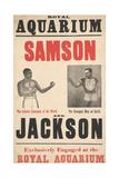 Samson V Jackson Giclee Print