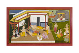 Rama and Lakshmana Rest Giclee Print