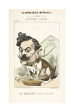 French Caricature - Le Dougue Giclee Print