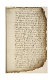 Letter Of Stephen Gardiner To King Henry VIII Giclee Print