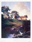 Hunt Farm (Daybreak) Collectable Print by Maxfield Parrish