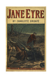 Charlotte Bronte - Edward Rochester With His Fallen Horse, in Front Of Jane Eyre - Giclee Baskı