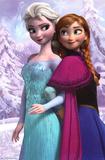 アナと雪の女王 - 映画ポスター 高品質プリント