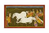 Horse Sacrifice Giclee Print