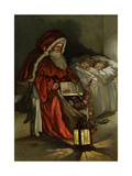 Father Christmas Giclee Print by Lizzi Mack