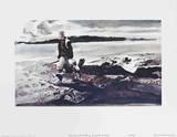 The Coot Hunter Samlertryk af Andrew Wyeth
