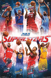 NBA Superstars Sports Poster Foto