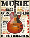 Musik Leidenschaft Poster