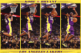 Kobe Bryant Los Angeles Lakers NBA Sports Poster Print