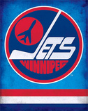 Winnipeg Jets Retro NHL Sports Tin Sign Tin Sign