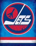Winnipeg Jets Retro NHL Sports Tin Sign Tin Sign