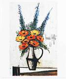 Les Pavots Collectable Print by Bernard Buffet