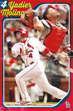 Yadier Molina St. Louis Cardinals MLB Sports Poster Affiches