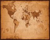 Weltkarte - antik Bilder