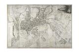 Plan Of Bath Giclee Print