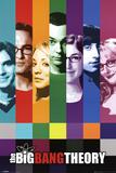 Big Bang Theory Signals Television Poster Obrazy