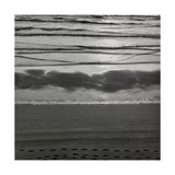 Waves Breaking On Shore Giclee Print by Fay Godwin