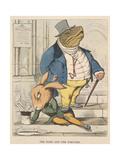 Aesop Fables Reproduction procédé giclée par C.H. Bennett