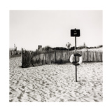 Lifebelt, Camber Sands Giclee Print by Fay Godwin