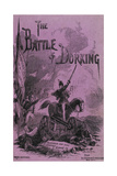 The Battle Of Dorking Giclee Print by George Chesney