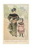 Children's Promenade Giclee Print