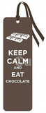 Keep Calm and Eat Chocolate Tasseled Bookmark Bookmark