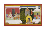 Kusha Approaches Brahmadatta Giclee Print