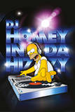 Simpsons - dj homey Print