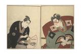 Ichikawa Danjuro VI Giclee Print by Toyokuni Utagawa