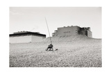 Sleeping Fisherman Dungeness 1974 Giclee Print by Fay Godwin