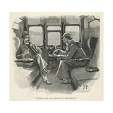 Sherlock Holmes and Dr. Watson Giclee Print by Sydney Pager