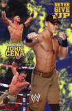 WWE John Cena Never Give Up Sports Poster Prints
