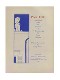 Poor Folk Giclee Print by Aubrey Beardsley