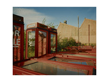 Telephone Kiosks For Sale in Urban Environment. Shipley, 1987 Giclee Print by Fay Godwin