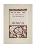 At the First Corner Giclee Print by Aubrey Beardsley