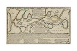 A Map Or Chart Of the Road Of Love, and Harbour Of Marriage Giclee Print