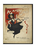 A Gaiety Girl Giclee Print by Dudley Hardy