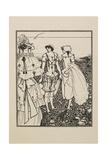 The Bathers Giclee Print by Aubrey Beardsley