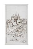 Alice's Adventures in Wonderland Giclee Print by Charles Dodgson