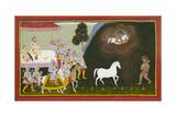 King Sagara Performs a Sacrifice Giclee Print