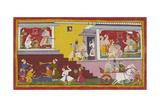 Dasaratha Tells Rama He Will Be Regent Giclee Print