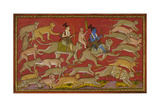 Rama Sets Out With the Monkey Army Giclee Print