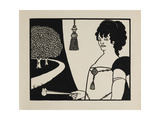 Madame Rejane Giclee Print by Aubrey Beardsley