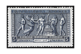 Olympic Offerings. Greece 1906 Olympic Games 5 Drachma, Unused Reproduction procédé giclée