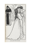 Illustration Of the Star-crossed Lovers in Romeo and Juliet Giclee Print by Arthur Rackham
