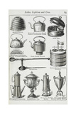 Kettles, Cafetieres and Urns Giclee Print by Isabella Beeton