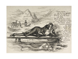 Oscar Wilde As Narcissus (With an Inscription) Giclee Print by James Kelly