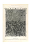 A Riot Scene Giclee Print by R. Woodville