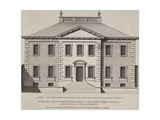 Front Elevation Of a Building. From a Pattern Book Of Drawings Of Typical English Buildings Giclee Print