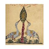 Two Cranes Giclee Print by Aristotle ibn Bakhtishu